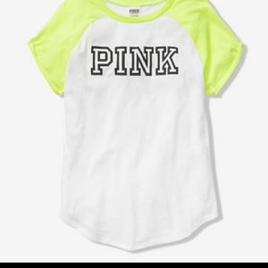 NWT PINK VS Everyday Perfect Tee